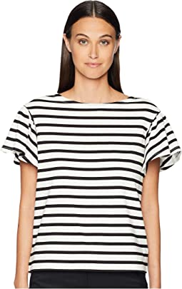 Stripe Drop Shoulder Tee