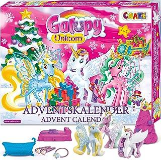 CRAZE l'avent Premium Ponys L'avent Calendrier de Jouets GALUPY 2019 pour Enfants pour Chevaux Scintillants de Noël 19450,...