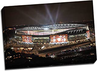 Panther Print Arsenal Emirates Stadium Canvas Art Print Poster 30