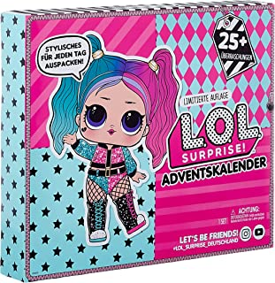 LOL Surprise Advent Calendar #OOTD Outfit Of The Day 2020 With Limited Edition Doll And 25+ Surprises Including Outfits, S...