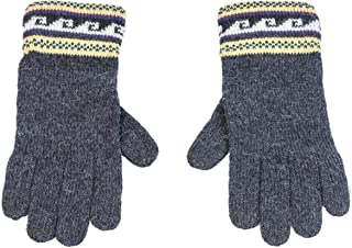 Rugged Andes Trading Company Lightweight 100% Alpaca Wool Gloves (Grey)