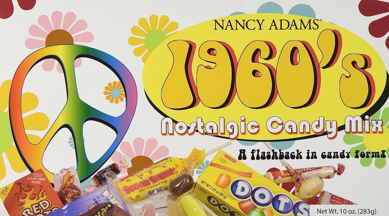 1960's Retro supreme Candy Gift Box-Decade - Basket List price 60' Box Classic