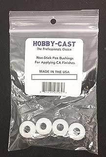 Hobby-Cast Non Stick Bushings for CA Finishing Pen Turning