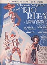 If You're in Love You'll Waltz from Rio Rita ; Vintage Sheet Music