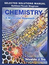 chemistry a molecular approach solutions manual