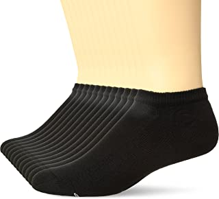 Men's Active Cool 12-Pack No Show Socks, black, Shoe...