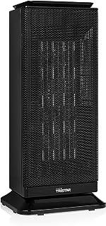 Tristar KA-5014 Calefactor eléctrico con temporizador, oscilante, 2000 W, cerámico, Negro
