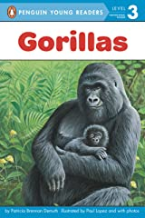 Gorillas (Penguin Young Readers, Level 3) Kindle Edition