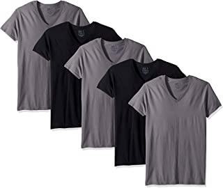 Fruit of the Loom Men's V-Neck T-Shirt Multipack