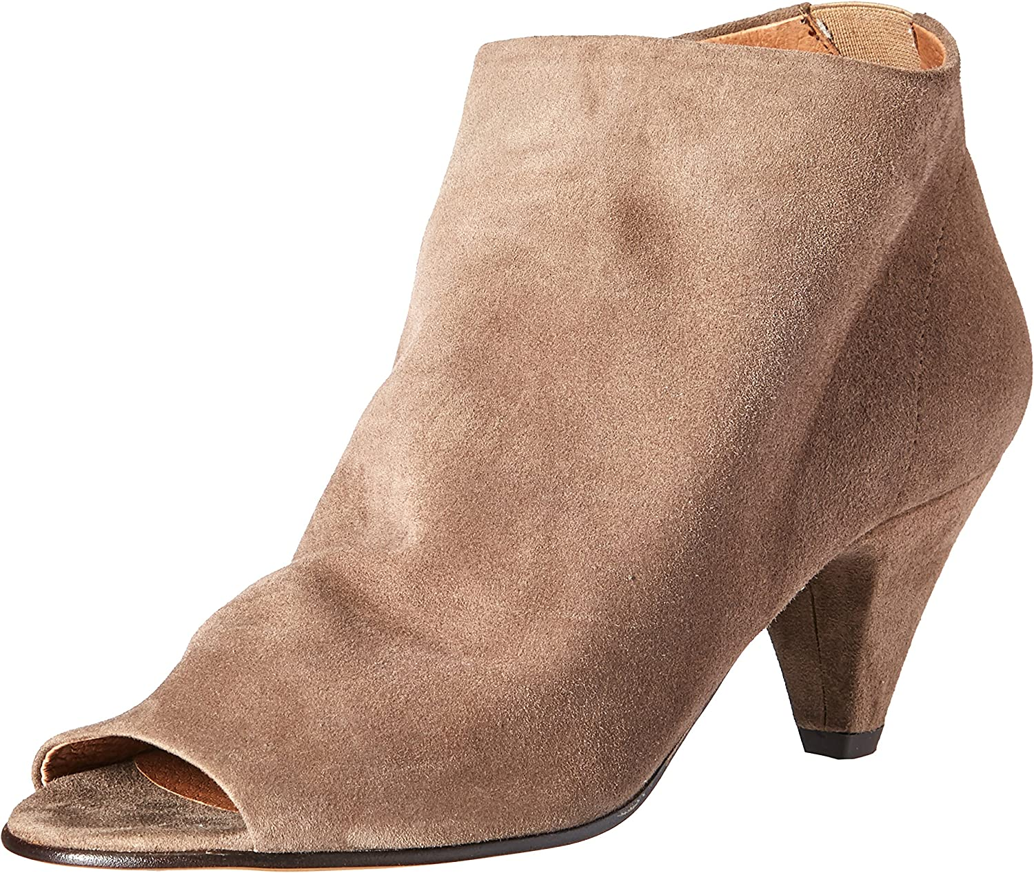 H By Hudson Womens Goa Suede Ankle Bootie