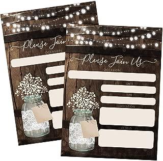 Best jar wedding invitations Reviews
