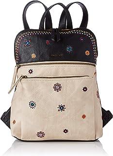 Desigual Womens PU Backpack MEDIUM, Brown
