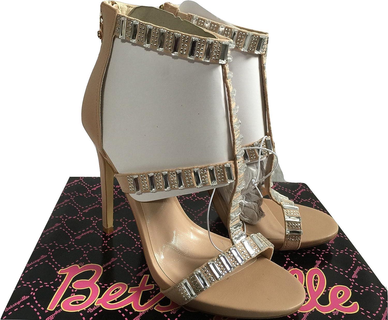 Women's Super popular specialty store Sandal Betseyville Mykonos Embellished High Heels Limited time cheap sale