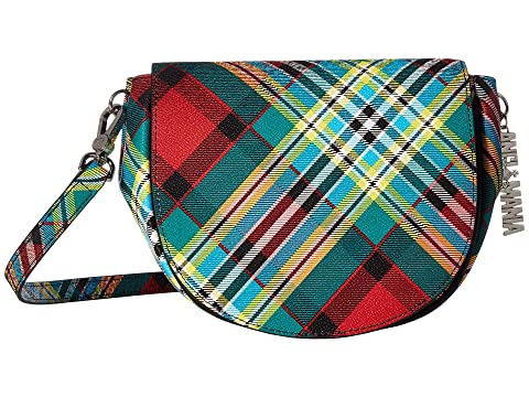 Vivienne Westwood Shuka Tartan Shoulder Bag