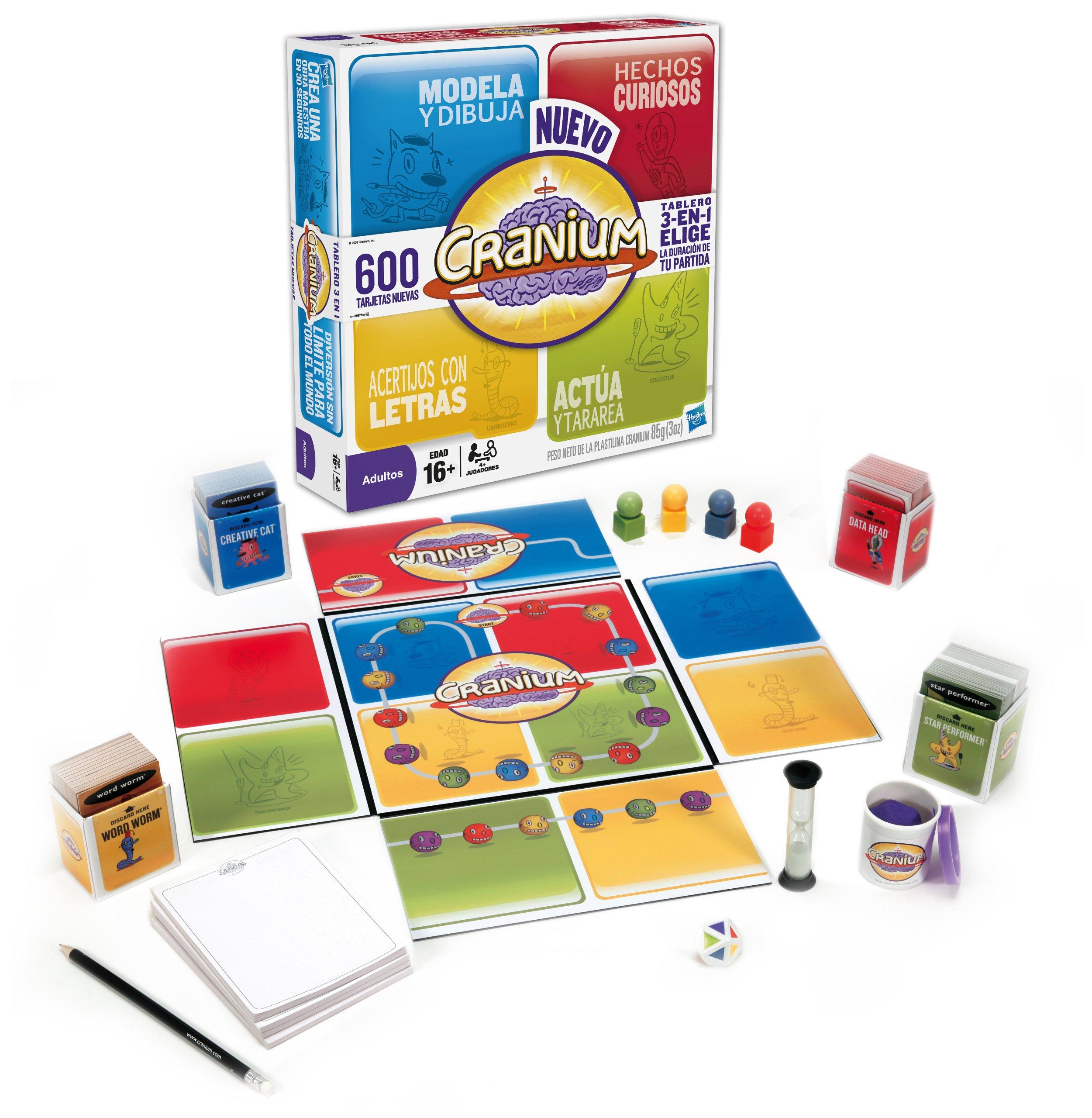 Hasbro Juegos de Adultos Cranium 2ª Edicion 16577105: Amazon.es: Juguetes y juegos