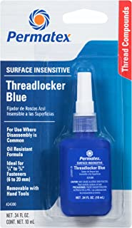 Permatex 24300 Surface Insensitive Threadlocker Blue, 0.34 oz.