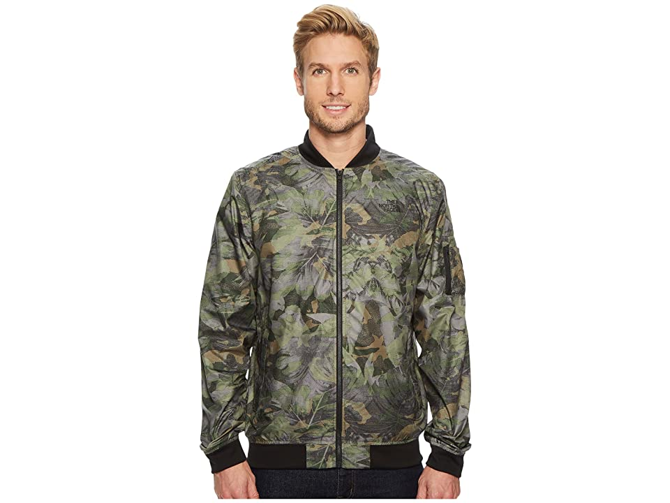 The North Face Meaford II Bomber (English Green Camo Print) Men
