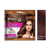 [Pantry] Indica Crème Hair Color Natural Brown, 40ml