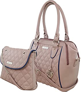 FLYING BERRY Women's Handbag with Sling Bag (Set of 2)