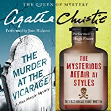 The Murder at the Vicarage & The Mysterious Affair at Styles (The First Miss Marple Mystery -and- The First Hercule Poirot...