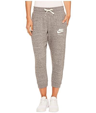 Nike Sportswear Gym Vintage Capri (Carbon Heather/Sail) Women