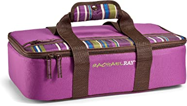 """Rachael Ray Lasagna Lugger, Insulated Casserole Carrier for Potluck Parties, Picnics, Tailgates - Fits 9""""x13"""" Baking Dish,..."""