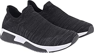 ATHLEO by Action Men Synthetic Fabric Phylon Sole Slip on Outdoor Running Sports Shoes