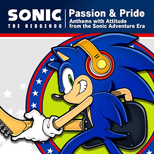 """Sonic The Hedgehog """"Passion & Pride"""" Anthems with Attitude from the Sonic Adventure Era - Vox Collection"""
