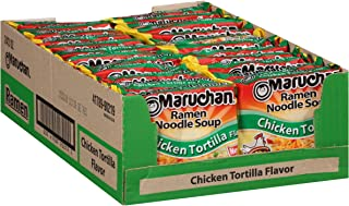 Maruchan Ramen Chicken Tortilla, 3.0 Oz, Pack of 24