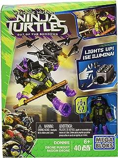 Mega Bloks Teenange Mutant Ninja Turtles: Out of The Shadows Donnie Drone Pursuit Playset