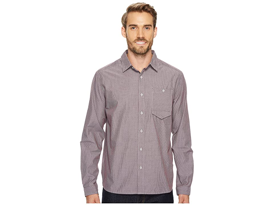 Mountain Hardwear Foreman Long Sleeve Shirt (Cote du Rhone) Men