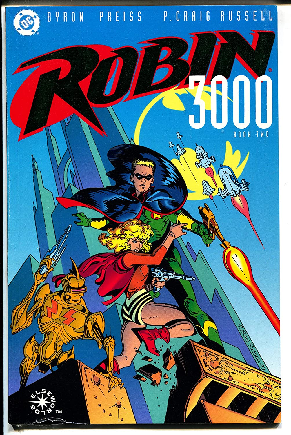 Robin 3000-Book 2-Byron High Louisville-Jefferson County Mall quality Preiss-Sealed