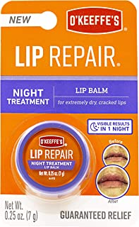 O'Keeffe's Lip Repair Night Treatment Lip Balm .25oz Jar