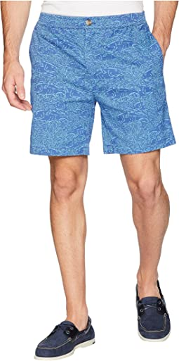 "7"" Tonal Printed Jetty Shorts"