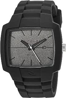 Rip Curl Men's Tour Quartz Sport Watch with Silicone Strap, Grey, 24 (Model: A2749-DSH)