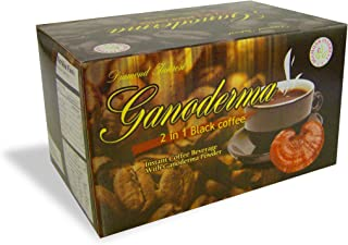 Ganoderma 2 in 1 Black Coffee - 1550 MG of Ganoderma Per Sachet