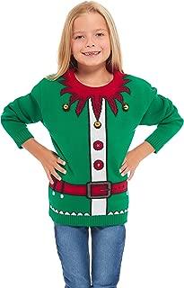 Childrens Kids Unisex Party Christmas Xmas Knitted Jumper Sweater Top Seasonal Winter Retro Santa Hat Snowman Rudolph Polar Bear Star Wars Knitting Long Sleeves Age 3-12