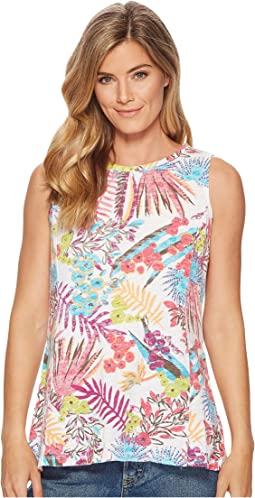 Bright Botanical Chloe Tank Top
