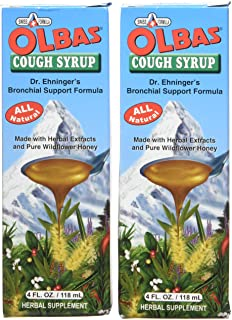 Olbas Syrup Cough Pack of 2 (4 FL. OZ.)
