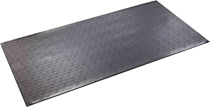 product image for SuperMats High Density Commercial Grade Solid Equipment Mat 40GS Made in U.S.A. for Cardio Equipment Recumbent Bikes and General Floor Mat Needs (2.5 Feet x 5 Feet) (30 in x 60 in) (76.2 cm x 152.4 cm)