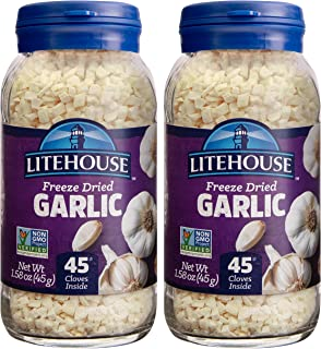 Litehouse Freeze Dried Garlic, 1.58 Ounce, 2-Pack