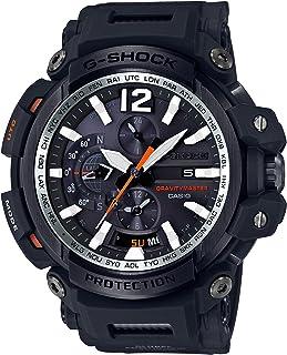 Casio Men's G Shock Tough Solar Quartz Aviator Watch Black (Model: GPW-2000-1ACR