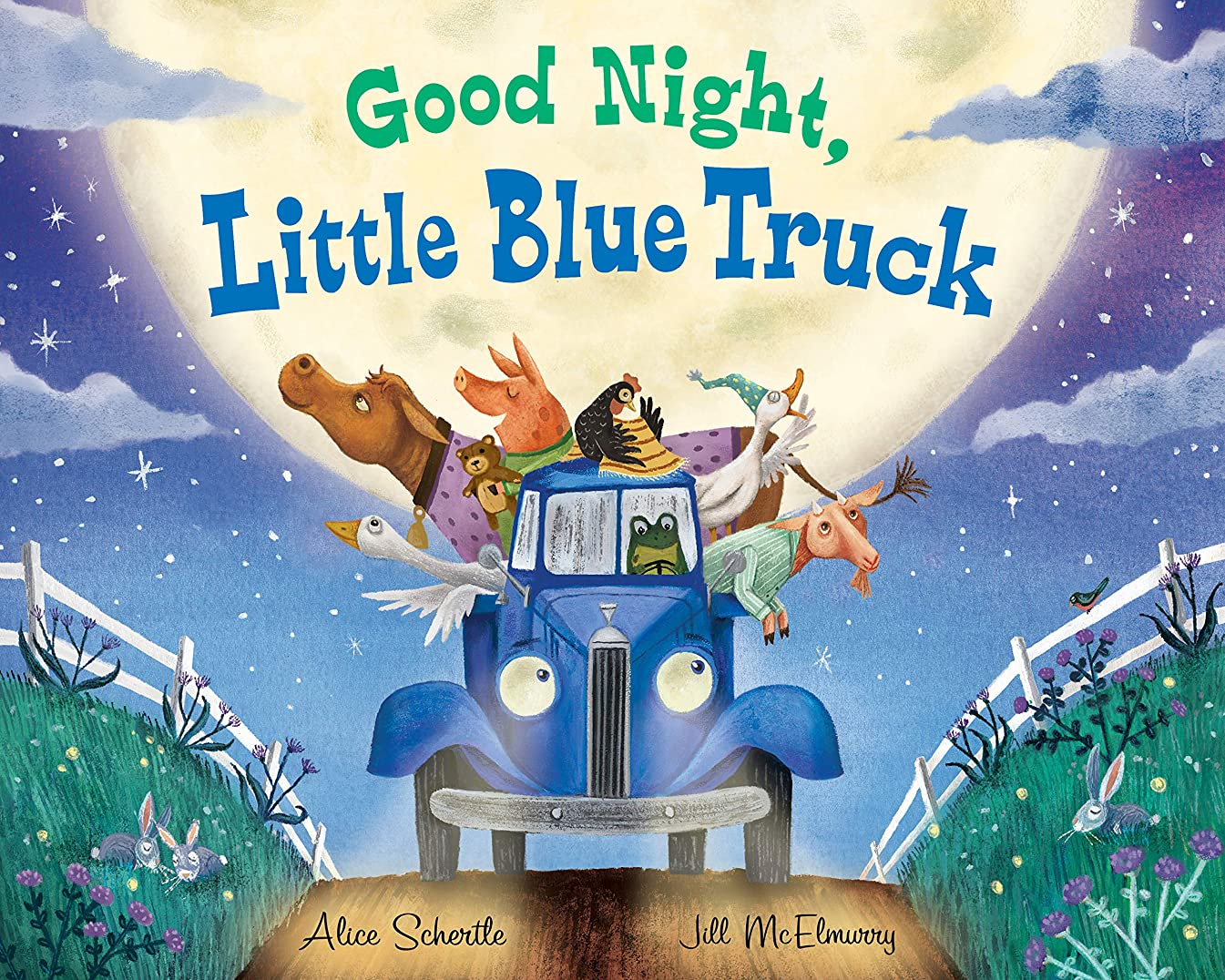 放送分岐する昼食Good Night, Little Blue Truck (English Edition)
