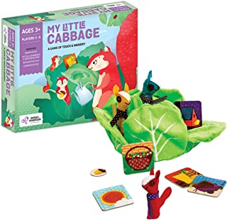 Chalk and Chuckles My Little Cabbage, Age 2 to 4 Years- Memory, Touch and Feel Game for Toddler, Early Childhood Educatio...
