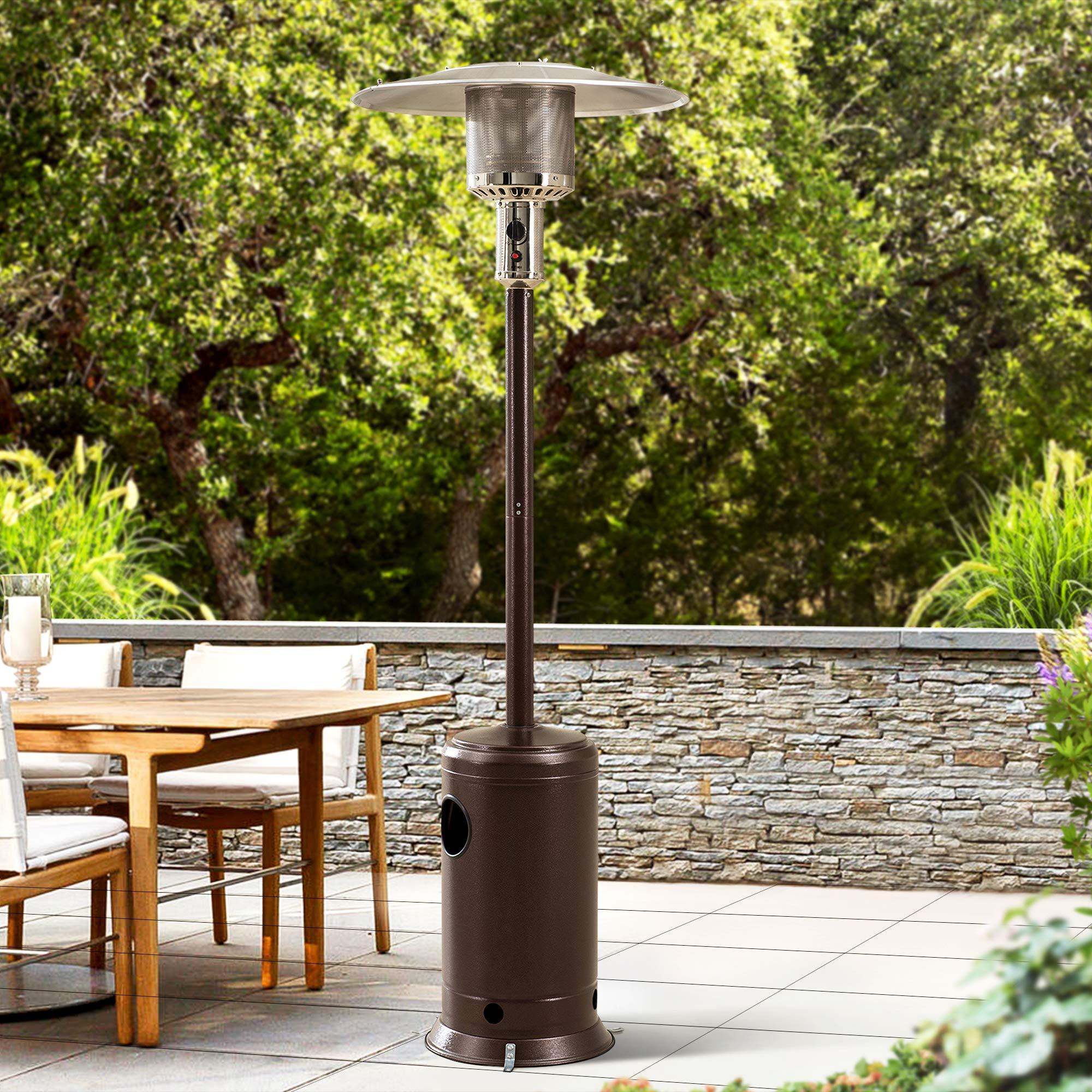 Sponsored Ad - Sunjoy 47,000 BTU Avanti Propane Heater, Bronze