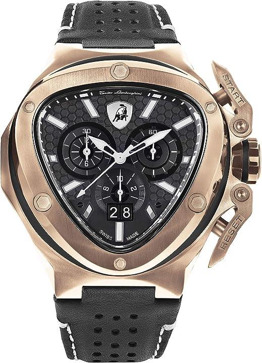Orologio lamborghini spyder x chronograph watch date rose gold T9XD-RG- tonino lamborghini