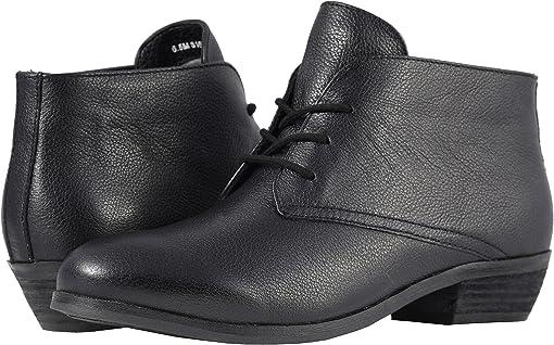Black Soft Mini Tumbled Leather