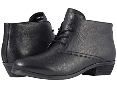 SoftWalk Ramsey (Black Soft Mini Tumbled Leather) Women