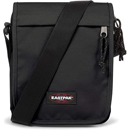 Eastpak Flex Bolso Bandolera, 23 Cm, 3.5 L, Negro (Black)