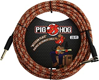 Pig Hog PCH20CPR Right-Angle 1/4
